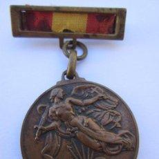 Militaria: MEDALLA DE LA VICTORIA , 1 DE ABRIL 1939, DE BRONCE , ORIGINAL. Lote 80311085