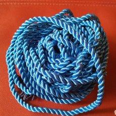 Cordón de seda azulón. Nuevo