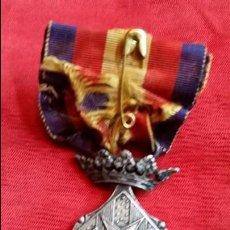 Militaria: MEDALLA DEL CENTENARIO DE GERONA.CATEGORÍA EN PLATA.. Lote 80726122