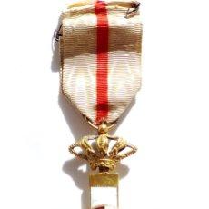 Militaria: MÉRITO MILITAR CON DISTINTIVO BLANCO ALFOSNO XIII. Lote 81067464