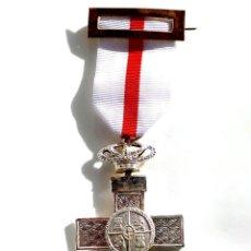 Militaria: CRUZ DE PLATA AL MÉRITO MILITAR DISTINTIVO BLANCO.TRANSICIÓN.. Lote 81119756