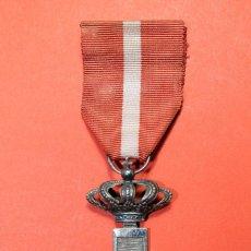 Militaria: MERITO MILITAR DISTINTIVO ROJO. CRUZ DE PLATA. 1875-1931. Lote 81765600