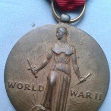 Militaria: USA. MEDALLA MILITAR ANTIGUA DE LA II GUERRA MUNDIAL. 1941 - 1945.. Lote 82036840