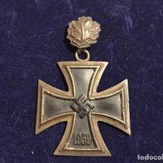 Militaria: CRUZ DE CABALLERO CON HOJAS DE ROBLE EICHENLAUB RITTERKREUZ REICH HITLER FUHRER NSDAP NAZI. Lote 131525870