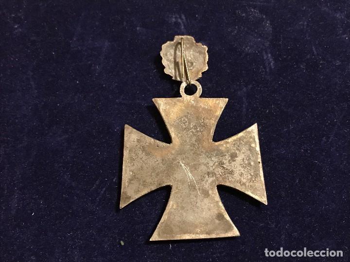 Militaria: Cruz de Caballero con hojas de roble eichenlaub ritterkreuz Reich Hitler Fuhrer NSDAP nazi - Foto 2 - 131525870