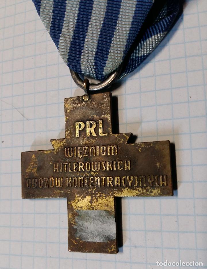 Militaria: Medalla cruz de prisionero de campo de concentración, Polonia - Foto 3 - 38663359