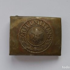 Militaria: WWII THE GERMAN BUCKLE WEHRMACHT STEEL. Lote 293966568