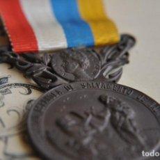 Militaria: MEDALLA SALVAMENTO DE NAUFRAGOS Y CONCESION.DEL AÑO 1.920. Lote 83722532