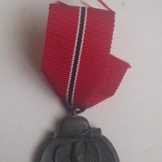 Militaria: MEDALLA CAMPAÑA INVIERNO DEL ESTE. CAMPAÑA DE RUSIA. 1941-1942. OSTMEDAILLE. DIVISIÓN AZUL ALEMANIA. Lote 83941508