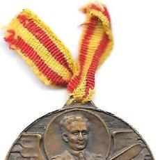 Militaria: ESPAÑA 1926 - MEDALLA CONMEMORATIVA DEL VUELO DEL PLUS ULTRA - RAMÓN FRANCO BAHAMONTE. Lote 83946572