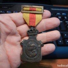 Militaria: MEDALLA DEL HOMENAJE DE LOS AYUNTAMIENTOS A LOS REYES. ÉPOCA DE ALFONSO XIII.. Lote 84177772