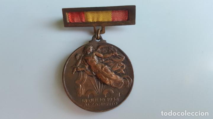MEDALLA ALZAMIENTO (Militar - Medallas Españolas Originales )