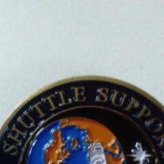 Militaria: MEDALLA DE BRONCE ESMALTADO CONMEMORATIVA USA. SPACE SUTTLE SUPPORT TEAM. DOD. . Lote 84586992