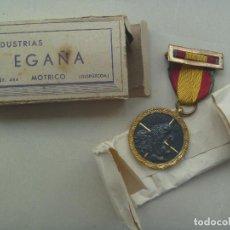 Militaria: GUERRA CIVIL : MEDALLA DE LA CAMPAÑA PARA COMBATIENTE NACIONAL RETAGUARDIA. DE EGAÑA EN CAJA. Lote 84751088