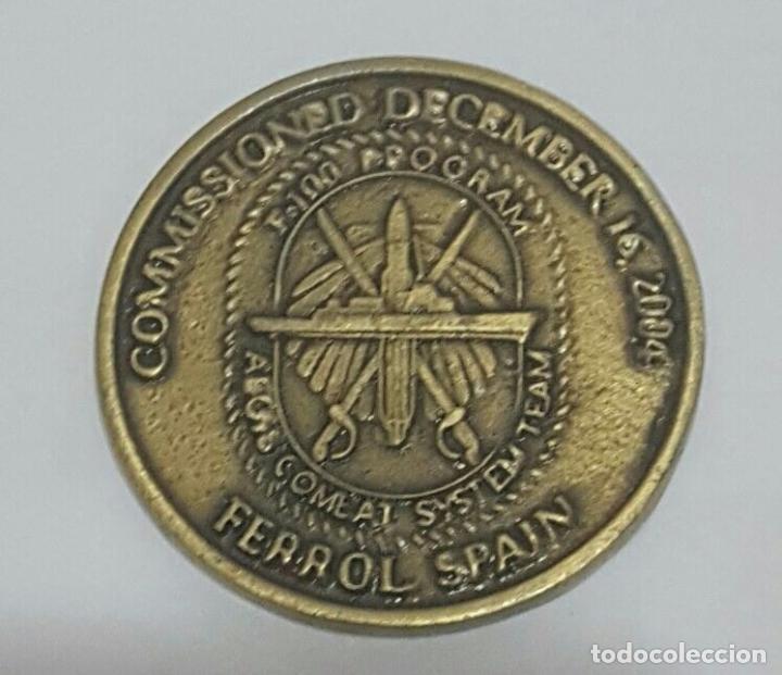 Militaria: MEDALLA PRUEBAS DE COMBATE FRAGATA F -103 BLAS DE LEZO - Foto 2 - 85888232