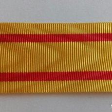 Militaria: CINTA MEDALLA DISTINCION ALFONSO XII 1875. Lote 85914680