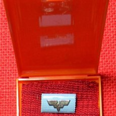 Militaria: RDA - ORIGINAL - MEDAL FOR MERIT FOR GERMAN RAILROADS - FUR TREUE DIENSTE - CAJA ORIGINAL. Lote 85923296