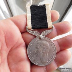 Militaria: MEDALLA INGLESA. FOR SERVICE TO NEW ZEALAND 1939 - 1945 2ª G.M.. Lote 86387372
