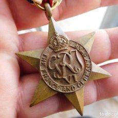 Militaria: MEDALLA INGLESA. THE FRANCE AND GERMANY STAR GEORGE VI 2ª GUERRA MUNDIAL. Lote 134185342