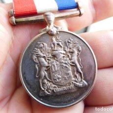 Militaria: MEDALLA INGLESA. SOUTH AFRICA WAR SERVICE MEDAL. 1939 - 1945 2ª G.M.. Lote 86388664