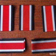 Militaria: 5 CINTAS PARA LA CRUZ DE HIERRO DE 2ª CLASE. Lote 87406316