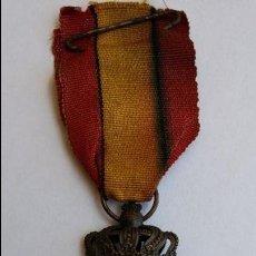 Militaria: MEDALLA DE BELGICA GUERRA MUNDIAL 1914-1918. Lote 87468776