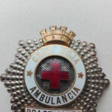 República española. Guerra Civil. Placa Cruz Roja