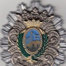 Militaria: PLACA DE PECHO: POLICIA MUNICIPAL DE BILBAO AÑOS 70. Lote 87679688