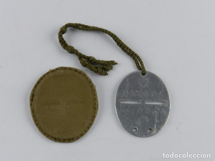 Militaria: Placa de identificación soldados nacionales del ejército de Franco en la guerra civil española (1936 - Foto 3 - 88090852