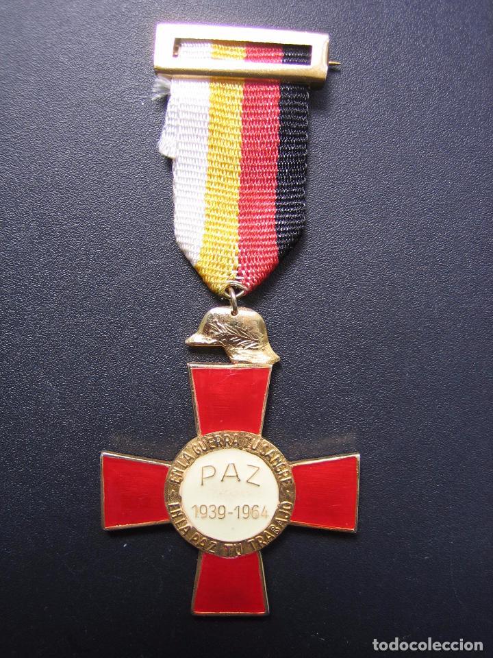 MEDALLA CONMEMORATIVA 25 AÑOS DE PAZ 1939-1964 (Militar - Medallas Españolas Originales )