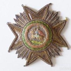 Militaria: PLACA A LA REAL Y MILITAR ORDEN DE SAN HERMENEGILDO. LA PRIMERA CREADA POR FERNANDO VII EN 1815.. Lote 88160420