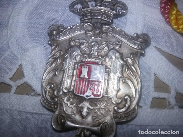 Militaria: MEDALLA DE PLATA-DISTINTIVO-MONÁRQUICA - Foto 11 - 88868232