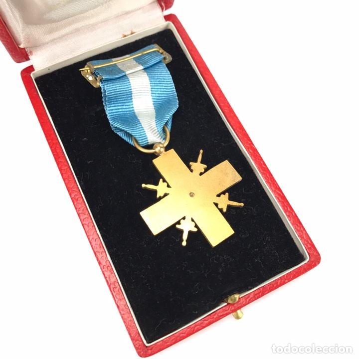 Militaria: Cruz de Guerra. Modelo 1942. En su caja. - Foto 3 - 212771447