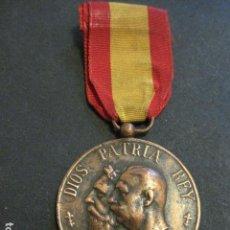Militaria: MEDALLA CARLISMO - VETERANOS DE LA LEGITIMIDAD DIOS PATRIA REY 1872-76- 1924-VER FOTOS-(V- 11.640). Lote 89853048