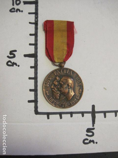Militaria: MEDALLA CARLISMO - VETERANOS DE LA LEGITIMIDAD DIOS PATRIA REY 1872-76- 1924-VER FOTOS-(V- 11.640) - Foto 6 - 89853048