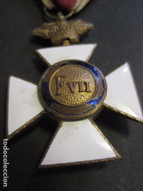 Militaria: MEDALLA SAN HERMENEGILDO - CONSTANCIA MILITAR- FERNANDO VII - VER FOTOS-(V- 11.641) - Foto 3 - 89853380