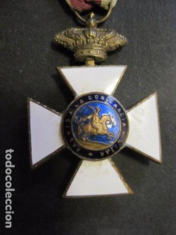 Militaria: MEDALLA SAN HERMENEGILDO - CONSTANCIA MILITAR- FERNANDO VII - VER FOTOS-(V- 11.641) - Foto 5 - 89853380