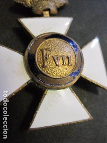Militaria: MEDALLA SAN HERMENEGILDO - CONSTANCIA MILITAR- FERNANDO VII - VER FOTOS-(V- 11.641) - Foto 7 - 89853380