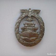 Militaria: WWII THE GERMAN BADGE KRIEGSMARINE HIGH SEAS FLEET. Lote 168955832