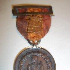 Militaria: GUERRA CIVIL. CUENCA. MEDALLA VOLUNTARIOS DE CUENCA. BANDO NACIONAL.ACUÑADA ROKISKI.ORIGINAL.. Lote 90386084