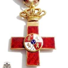 Militaria: MEDALLA MÉRITO MILITAR DISTINTIVO ROJO ALFONSO XIII. Lote 90525920