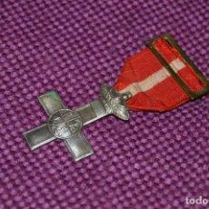 Militaria: CRUZ DE PLATA DEL MERITO MILITAR CON DISTINTIVO ROJO - GOBIERNO PROVISIONAL 1868 A 1870 - HAZ OFERTA. Lote 91569105