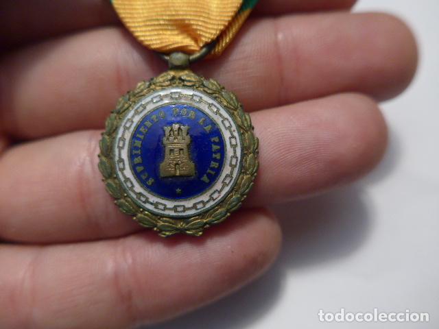 Militaria: * Antigua medalla sufrimiento por la patria, Alfonso XIII - Guerra civil. ZX - Foto 3 - 91650745