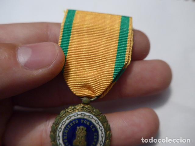 Militaria: * Antigua medalla sufrimiento por la patria, Alfonso XIII - Guerra civil. ZX - Foto 4 - 91650745