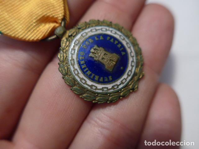 Militaria: * Antigua medalla sufrimiento por la patria, Alfonso XIII - Guerra civil. ZX - Foto 7 - 91650745
