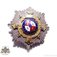 Militaria: PLACA DEL MÉRITO EN CAMPAÑA AÑOS 40. Lote 92716980