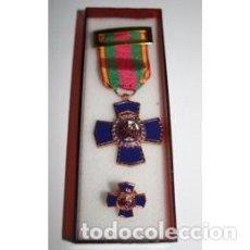 Militaria: MEDALLA DEDICACIÓN AL MÉRITO POLICIAL XX AÑOS CON PASADOR. Lote 92767705
