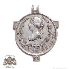 Militaria: MEDALLA CAMPAÑA DE ÁFRICA ISABEL II 1860 FABRICADA EN STERN A PARIS. Lote 93104035