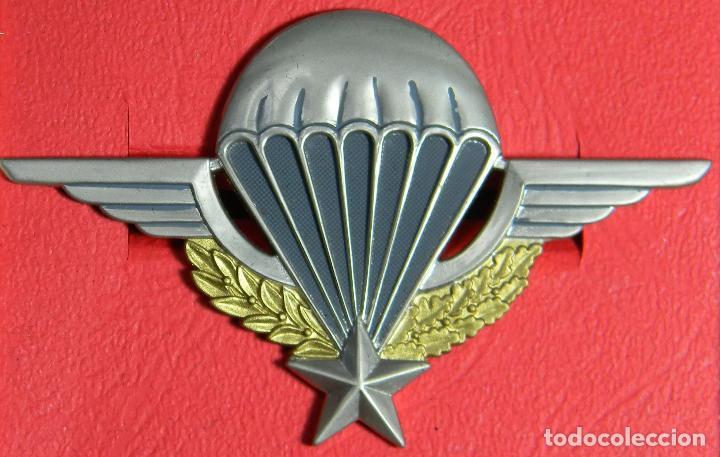 REPLICA MUSEUM - INSIGNIA DE PARACAIDISTA FRANCIA - II GUERRA MUNDIAL (Militar - Reproducciones y Réplicas de Medallas )