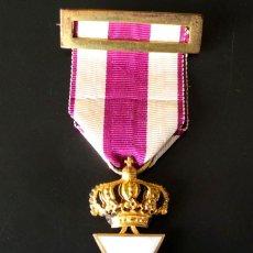 Militaria: CRUZ DE SAN HERMENEGILDO CASA CASTELLS MODELO GRANDE - ISABEL II. Lote 93354080